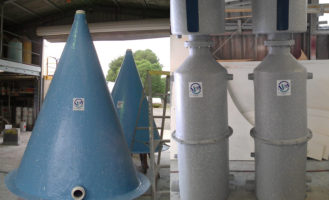 Aquaculture Filters and Oxygen Cones