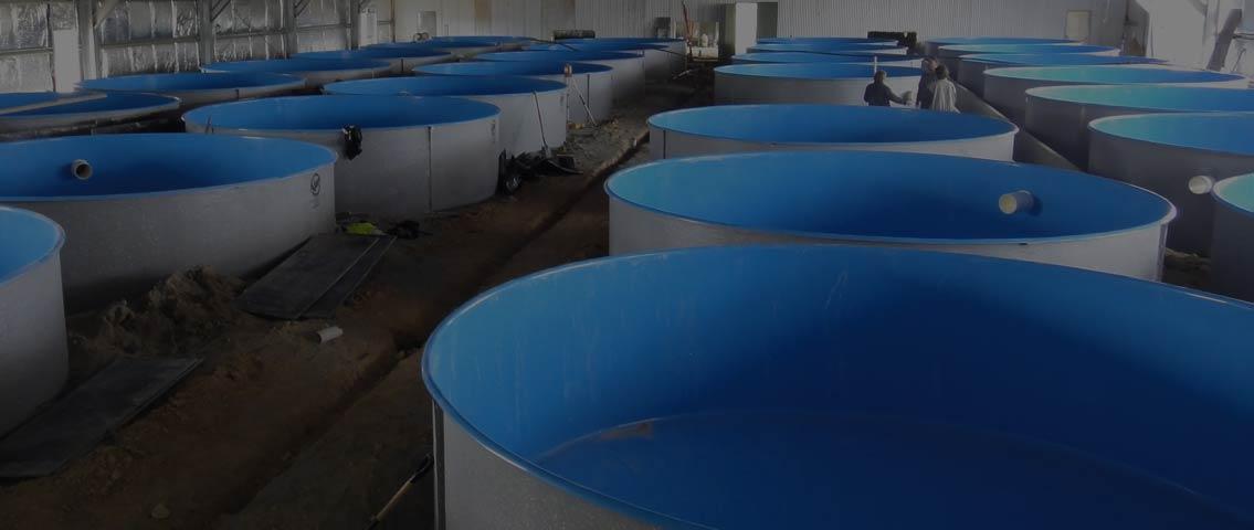 Aquaculture Tanks & Grow Beds | Tapered, Flat Base