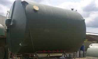 High Profile Range – FRP Chemical Treatment Tanks
