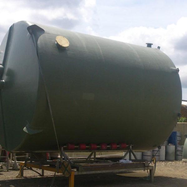 High Profile Range – FRP Chemical Treatment Tanks