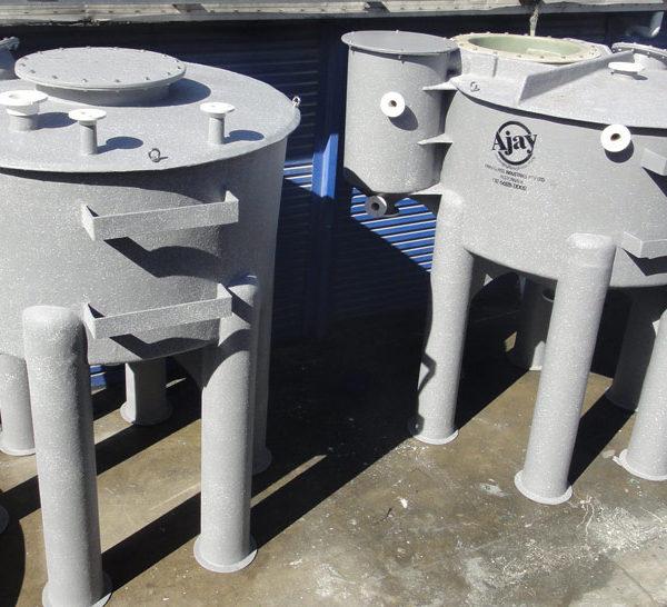 Tapered Base Range - FRP Chemical Treatment Tanks
